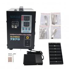 737G Spot Welder 110V 1.5KW Battery Spot Welding Machine LED Light for 18650 Battery Pack