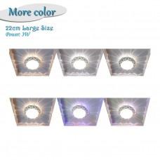 3W LED Ceiling Lamp Dia 22cm Ceiling Light Modern Lamp For Aisle Entrance Living Room Balcony
