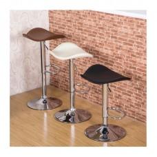 PU Leather Modern Bar Stool Kitchen Chair Swivel Bar Stool Gas Lift