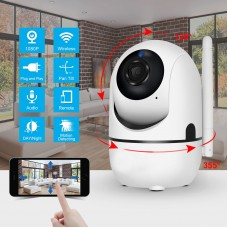 IP Security Camera 1080P Pan/Tilt Wireless Network CCTV Night Vision WiFi