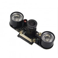 1080P 3.3V Night Vision IR Camera Module for Raspberry Pi 3B/3B+ Model