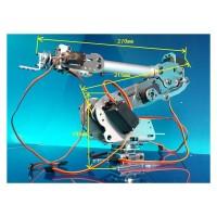 6 Axis Robot Arm Mechanical Robot Arm ABB Industrial Robot Arm Free Manipulator