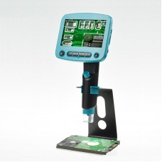 800x USB Digital Microscope 4.3Inches HD LCD Display Video For PCB Repair Industrial Sector