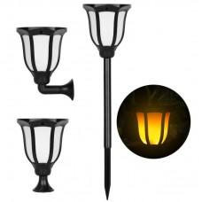Solar Garden Lamp LED Light Landscape Solar Lamp Garden Fence Outdoor Street Lamp Night Light