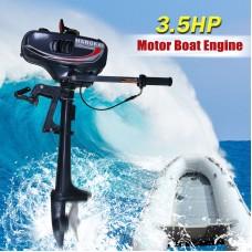 2 Stroke 3.5HP Heavy Duty Outboard Motor Boat Engine w/Water Cooling System
