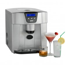 Digital Ice Maker and Dispenser Machine with LCD Display - Counter Top