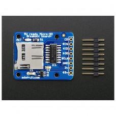 Adafruit MicroSD Card Breakout Board Development Module