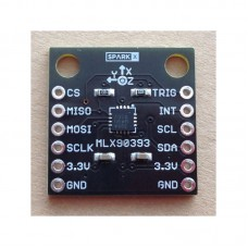 MLX90393 Magnetometer Module Digital 3D Hall Sensor Displacement Angle Rotate Module