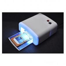 36W Art Acrylic UV Nail Lamp UV Curing Light Gel Polish Dryer With Timer + 4 Bulbs