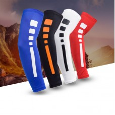 Arm Compression Sleeve Cover Protector For Basketball Running Cycling Outdoor Exercise