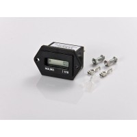 DC4.5-90V Resettable Hour Meter with LCD Display For Marine ATV Motorcycle Snowmobile Boat Tractor