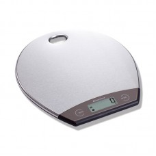 5kg/1g Digital Kitchen Scale Hanging Design Stainless Steel Kitchen Scale For Food Round Shape
