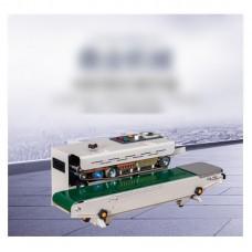 500W Automatic Horizontal Continuous Plastic Bag Band Sealing Sealer Machine 220V