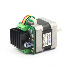 39/42 Micro Stepping Motor Driver Module Integrated Driver ZD-M42S 128 Microstep with Heat Sink