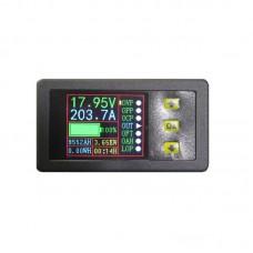0-90V 0-20A DC Digital Multimeter LCD Voltmeter Ammeter Volt Amp Watt Time Capacity Meter