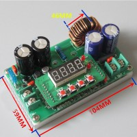 Adjustable 400W CC CV DC-DC Step Down Converter Power Supply Module LCD Driver