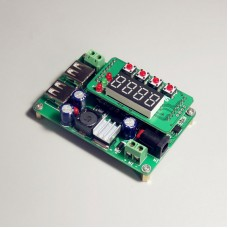 DC-DC Buck Voltage Converter 36V 3A Adjustable Digital Step Down Voltage Regulator CC CV USB2.0 Port