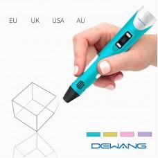 3D Printing Pen Crafting Doodle Drawing Arts Printer LCD Display + 9m PLA Printing Filament