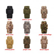 65L Outdoor Military Tactical Backpack Waterproof Camping Hiking Climbing Backpack Heavy Duty Bag