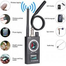 RF Signal Detector Bug Anti-spy Detector Camera GSM Audio Bug Finder GPS Scan