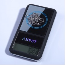 100g x 0.01g Jewelry Pocket Scale Digital Pocket Scale Touch Screen LCD Jewelry Balance ATPT446