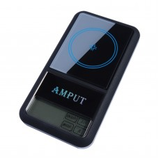 200g x 0.01g Jewelry Pocket Scale Digital Pocket Scale Touch Screen LCD Jewelry Balance ATPT446