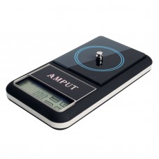 500g x 0.01g Jewelry Pocket Scale Digital Pocket Scale Touch Screen LCD Jewelry Balance ATPT446