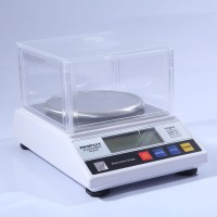 600g x 0.01g Precision Jewelry Scale Digital Scale Kitchen Scale Lab Weigh + Wind Shield APTP457B