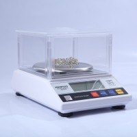 1KG x 0.01g (HBM) Precision Jewelry Scale Digital Scale Kitchen Lab Scale + Wind Shield APTP457B
