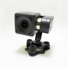Arkbird 2-Axis Mini Camera with Gimbal HD 2K Resolution PWM Control Pitch Shooter For RC Airplane