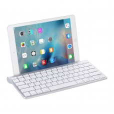 Wireless Bluetooth Keyboard 3.0 Ultra Slim with Foldable Holder For Windows/Android/IOS