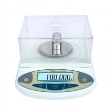 500G x 0.001g High Precision Electronic Balance Scale + Windshield For Lab Jewelry Accuracy 1mg