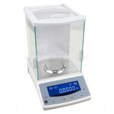 200g/0.0001g 0.1mg Digital Analytical Balance Precision Scale Lab Analytical Balance Windshield