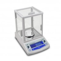 200g/0.001g Lab Analytical Balance Digital Precision Scale 1mg Electronic Balance + Windshield