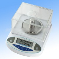 500G x 0.01G High Precision Electronic Balance Scale + Windshield For Lab Jewelry Accuracy