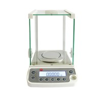 220g/0.0001g High Accuracy Lab Analytical Balance Temperature Compensation Balance Scale USB 220V