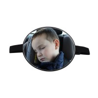 Round Back Seat Mirror For Baby Infant Child Toddler Rear Ward Safety View