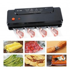 SX-100 Automatic Electric Vacuum Sealer Fresh Food Bag Packing Machine Tool