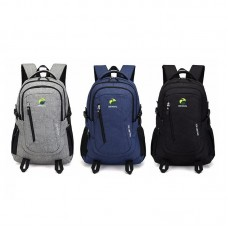 Anti-Theft Backpack USB Charging Port Rucksack USB Laptop Backpack School Bag Travel + USB Cable