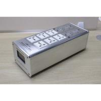 Weiduka AC8.8 3000W 15A Advanced Audio Power Purifier Filter AC Power Socket -Silver