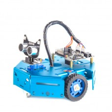 Arduino Programmable Robot Kit DIY STEM Toy Scratch 3.0 & Python Program Robotics & Electronics Blue
