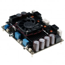 2*1200W Audio Amplifier Board Class D DC Power Stereo Amp Dual Channel