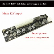 ATX 24Pin MINI ITX Power Supply Adapter Card for DC-ATX 12V 250W Computer