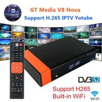 Satellite Receiver HD H.265 Built-in WIFI TV Box 1080P Support WEB TV IPTV Youtube Youporn Redtube