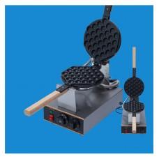 220V Electric Egg Cake Oven Stainless Steel Egg Waffle Maker QQ Egg Waffle Maker 50℃-250℃