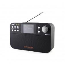 """DAB Digital Radio DAB+ FM RDS Radio 2.4"""" TFT Color LCD Display Bluetooth 4.0 Freesat DR-103B"""