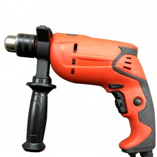 13mm Electric Impact Drill Household Multi-functional Pistol Drill Wall Screwdriver Gun Stepless Speed