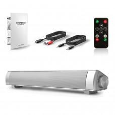 Wireless Bluetooth Speaker 10W 2CH Wireless Speaker Soundbar Bluetooth 3.0 TV Speaker System
