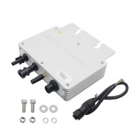 300W Grid Tie Micro Inverter MPPT Solar Power Pure Sine Wave Output with Communication Monitoring for 320Watt 36V Solar Home System