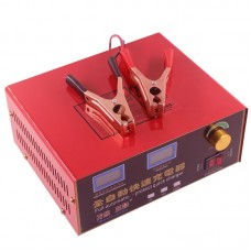 12V/24V Lead Acid Battery Charger 600W Car Motorcycle Fully Automatic For 20AH-200AH*2 Battery